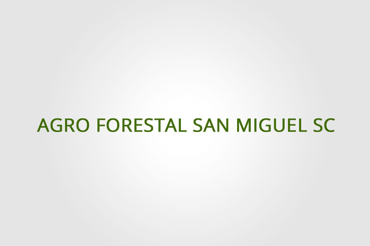 Agroforestal San Miguel
