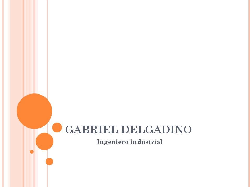 GABRIEL DELGADINO