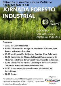 Jornada Foresto Industrial 03-03-18