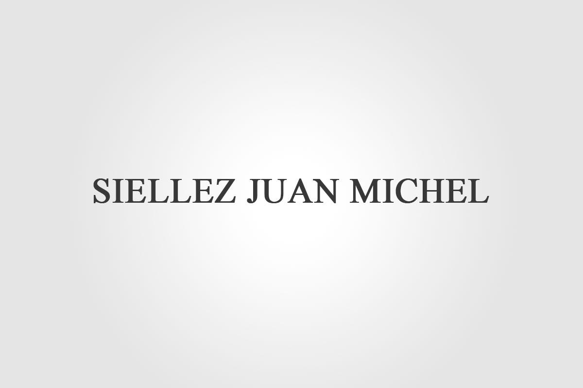 SIELLEZ JUAN MICHEL